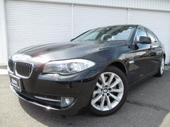 BMW535i 18AW黒革SRオートトランク1オナ禁煙認定中古車
