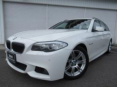 BMW523iツーリングMスポーツ18AW黒革ウッド直6禁煙1オナ
