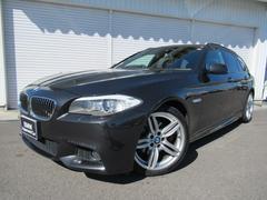 BMW528iツーリングMスポーツ19AW黒革パノラマSR直6EG