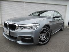 BMW523d Mスポーツハイライン黒革19AWデモカー認定中古車