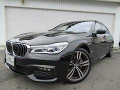 BMW740e Mスポーツ20AWブラウン革SRデモカー認定中古車