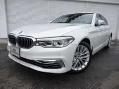 BMW523d ラグジュアリー18AWコンフォートP黒革認定中古車