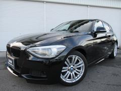 BMW120i Mスポーツ純正HDDナビPサポ電動シート認定中古車