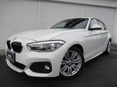 BMW118i Mスポーツ17AW衝突軽減クルコン禁煙1オナ