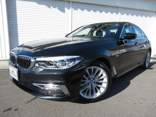 BMW 5シリーズ 523iラグジュアリー黒革ランバーサポート認定中古車18AW
