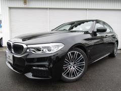 BMW530e PHEV Mスポーツ19AW黒革デモカー認定中古車