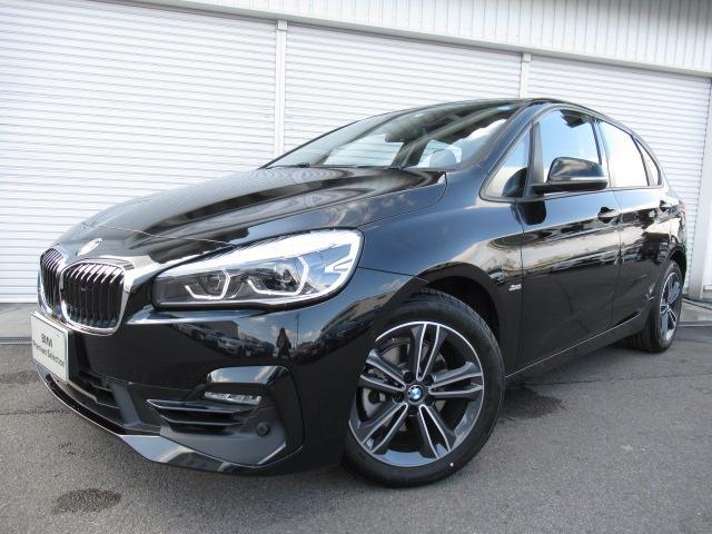BMW 218iアクティブツアラースポーツコンフォートPサポデモカー