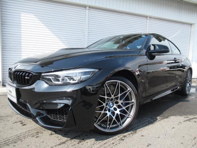 BMW M4クーペM-DCTコンペティション20AWサキール革認定車