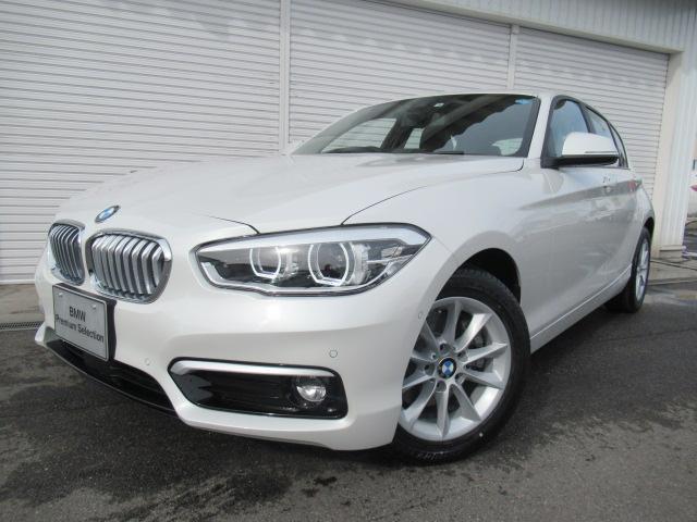 BMW 118i スタイルACCパーキングサポPデモカー認定中古車