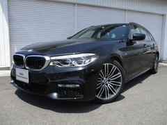 BMW523dツーリングMスポーツ ハイライン黒革イノベーション