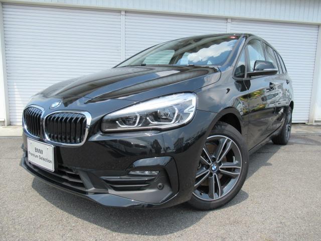 BMW 218dグランツアラー スポーツ コンフォート 認定中古車