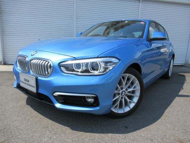 BMW 118i ファッショニスタ オイスターレザー 認定中古車