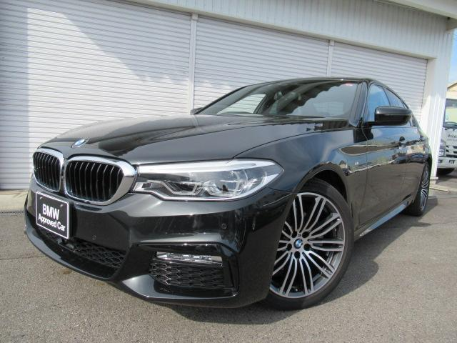 BMW 523d Mスポーツ 19AW ウッド1オーナー 認定中古車