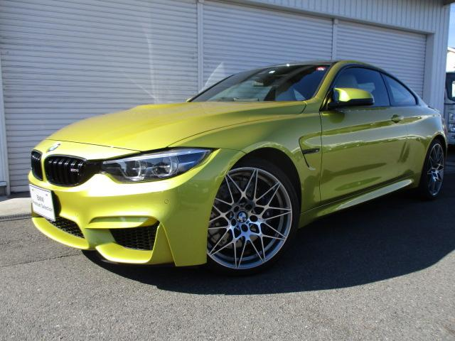BMW M4クーペ コンペティション シルバーストーン革 認定中古車