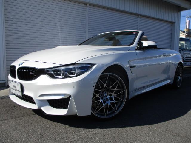 BMW M4カブリオレ コンペティション ベージュレザー 認定中古車
