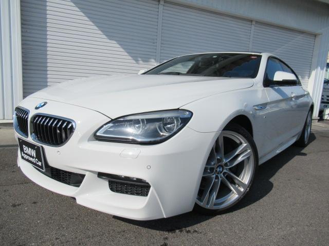 BMW 640iグランクーペMスポーツアイボリーレザーSR20AW