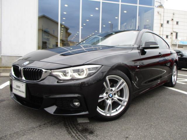 BMW 4シリーズ 420iグランクーペ MスポーツレッドレザーSR 認定中古車