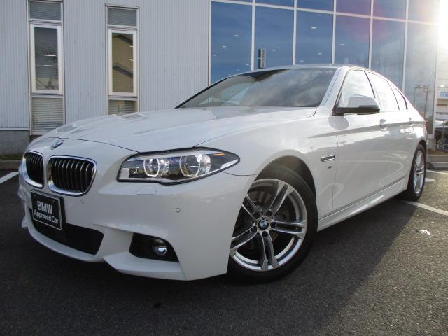 BMW 523i Mスポーツ LEDヘッドライト18AW 認定中古車