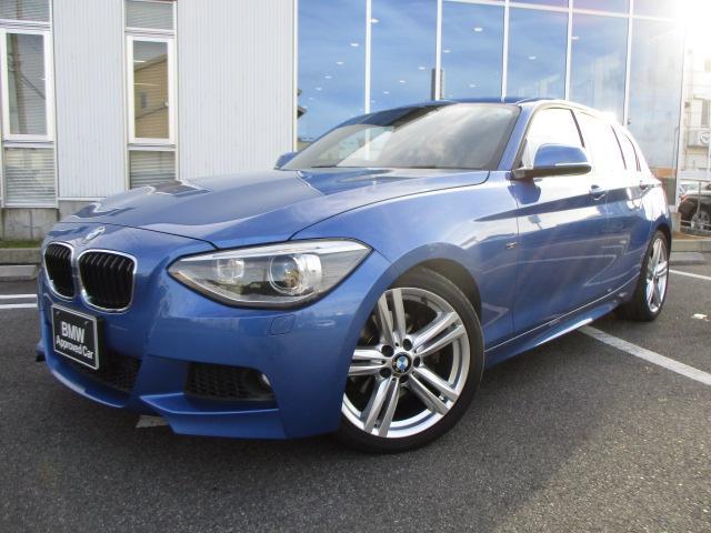BMW 116i Mスポーツブラックレザー18AW純正Bカメラ1オナ