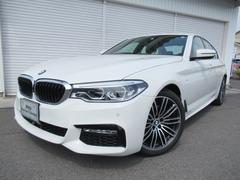 BMW523i Mスポーツ LEDヘッドライト19AW認定中古車