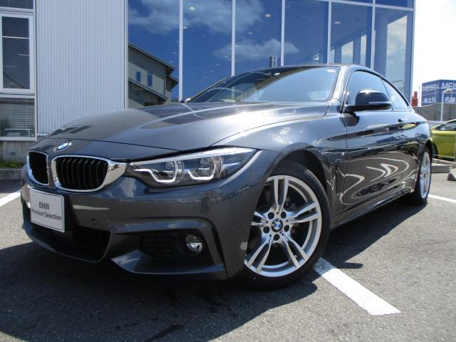 BMW 420iクーペ Mスポーツ コーラルレッドレザー 認定中古車