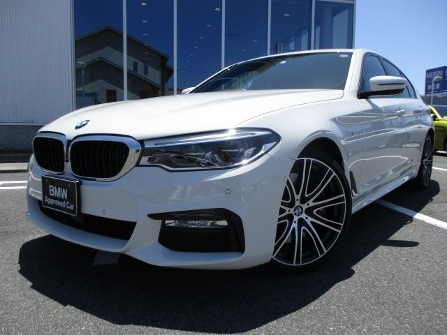 BMW 540i Mスポーツ ブラックレザーSR20AW 認定中古車