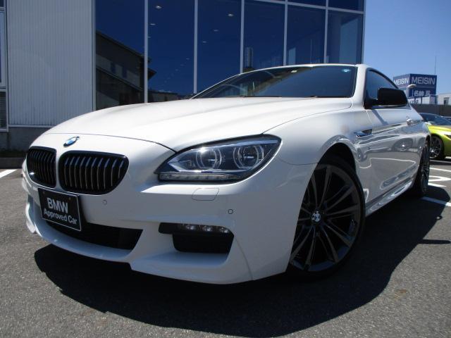 BMW 640iクーペ MスポーツLEDヘッドSR20AW黒レザー
