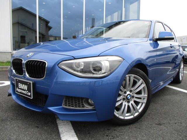 BMW 1シリーズ 116i Mスポーツ純正iDriveナビゲーション認定中古車