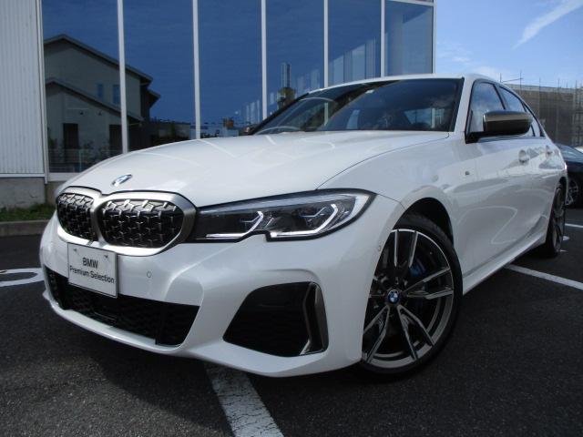BMW M340i xDrive 全方位カメラ ブラックレザーシート ブルーステッチ 19AW 認定中古車