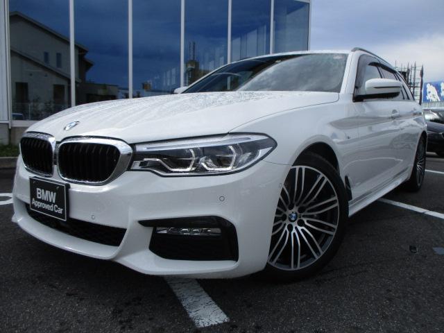 BMW 530iツーリング Mスポーツ ソフトクローズ ヘッドアップディスプレイ ブラックレザーシート 19AW 認定中古車