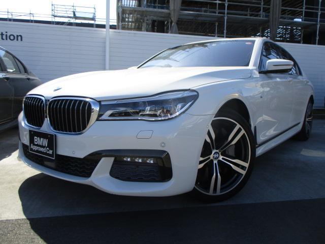 BMW 7シリーズ 750i Mスポーツ モカ エクスクルーシブナッパレザー ウッドパネル レーザーライト デザインピュアEX 認定中古車