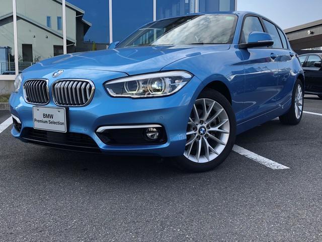 BMW 118i ファッショニスタ オイスターレザーシート 17AW 認定中古車