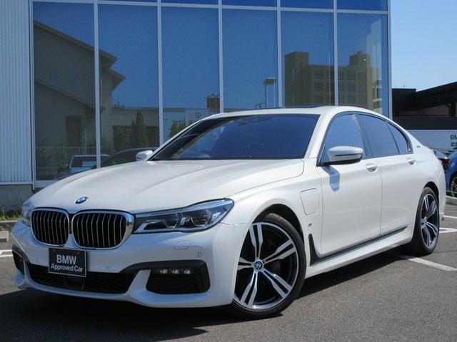 BMW 740eアイパフォーマンス Mスポーツ LEDレーザーライト サンルーフ 20AW ブラックレザーシート 弊社1オーナー 認定中古車