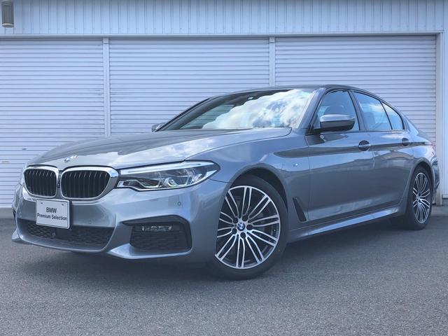 BMW 523d Mスポーツ LEDヘッドライト 19AW 弊社デモカー 認定中古車