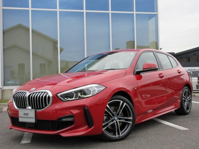 BMW 1シリーズ 118i Mスポーツ LEDヘッド 18AW ライビコクピット コンフォートアクセス アンビエントライト PDC 禁煙 弊社デモカー