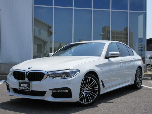 BMW 5シリーズ 523d Mスポーツ ブラックレザーシート LEDヘッドライト ACC ウッドパネル 19AW 禁煙 認定中古車