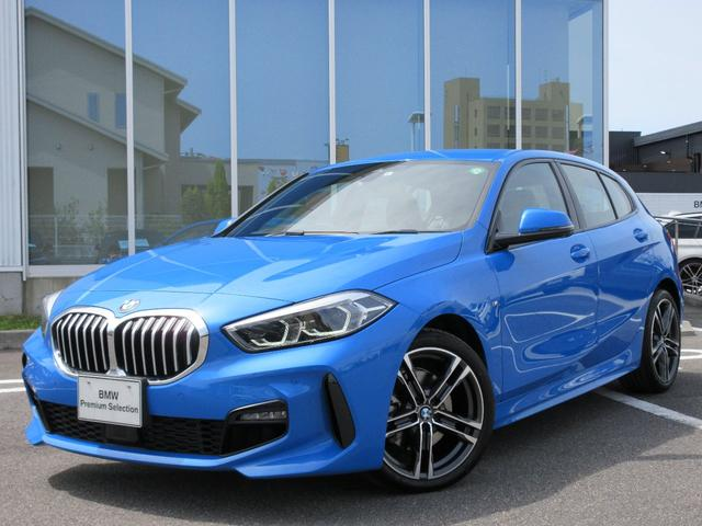 BMW 118i Mスポーツ LEDヘッドライト ACC 18AW アンビエントL コンフォートアクセス 電動リアゲート 禁煙 デモカー
