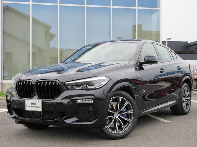 BMW X6 xDrive 35d Mスポーツ パノラマグラススカイラウンジ 20AW 黒レザーシート ACC 社外Bグリル 温冷カップH 禁煙 ワンオーナー