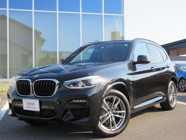 BMW X3 xDrive 20d Mスポーツ LED 19AW コニャックレザー ライブコクピット アンビエントライト ACC 社外ドラレコ 禁煙 ワンオーナー