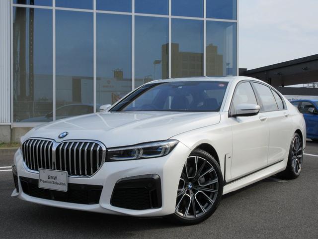 BMW 740i Mスポーツ レーザーH 黒革 20AW サンルーフ ハーマンカードン ヘッドアップD 地デジ ACC 禁煙 弊社ワンオーナー