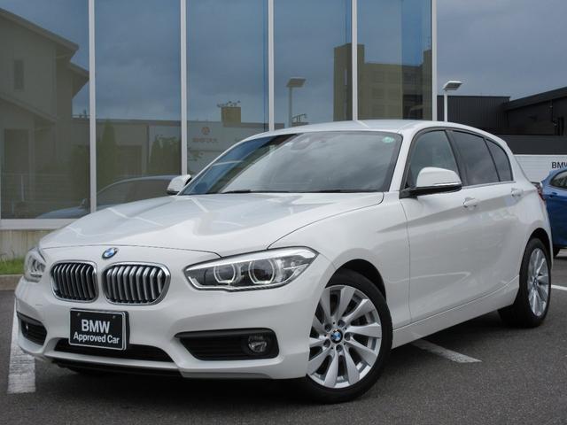 BMW 1シリーズ 118i セレブレーションエディション マイスタイル 限定車 LED 17AW センサテックレザー PDC Bカメラ ドラレコ&レーダー フィルム 禁煙 弊社ワンオーナー