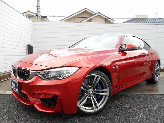 BMW M4 M4クーペ LED 19AW Mブレーキ 黒レザー ヘッドアップディスプレイ ACC 社外ドラレコ&レーダー 禁煙 認定中古車