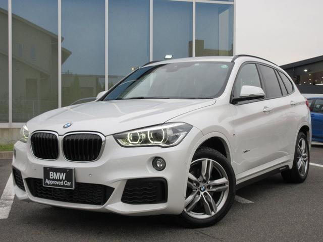 BMW X1 xDrive 18d Mスポーツ LEDヘッドライト 18AW コンフォートアクセス Bカメ PDC Wフィルム 禁煙 弊社ワンオーナー