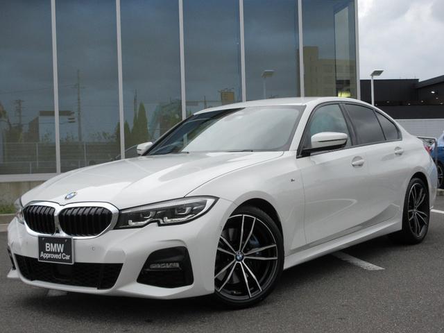BMW 330i Mスポーツ LED 19AW Mブレーキ 黒レザー ヘッドアップディスプレイ ACC ライトカーペット ウッドパネル 禁煙 弊社ワンオーナー