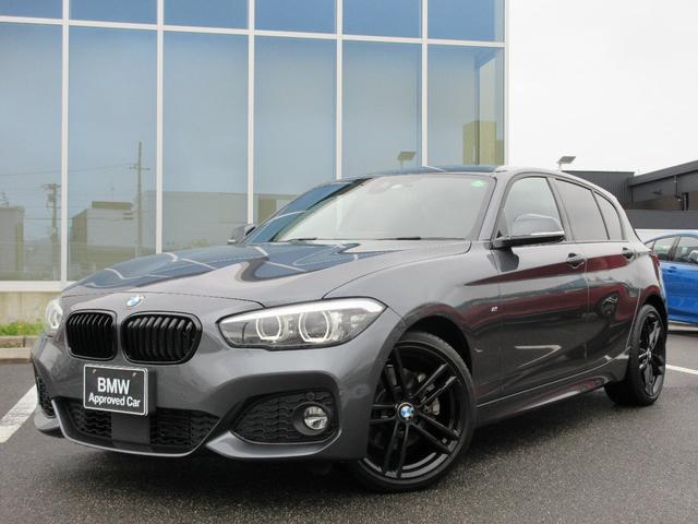 BMW 1シリーズ 118i Mスポーツ エディションシャドー LED 18AW ACC 黒レザーシート コンフォートアクセス ドラレコ 電動シート 禁煙 弊社ワンオーナー