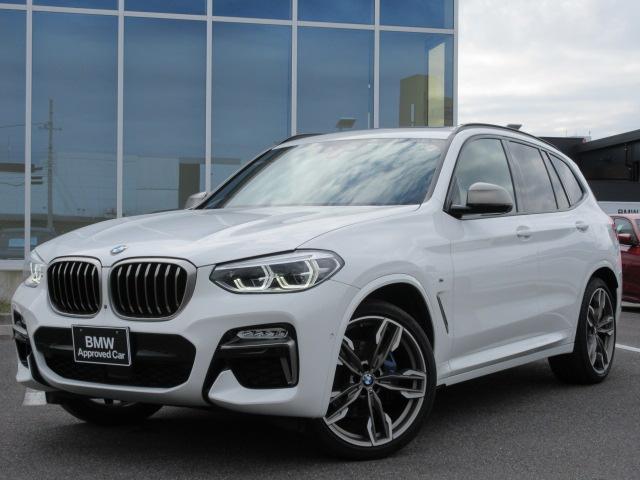 BMW M40d LED 21AW パノラマガラスサンルーフ ハーマンカードン コニャックレザー ACC ヘッドアップD ドラレコ Mブレーキ 禁煙 弊社ワンオーナー