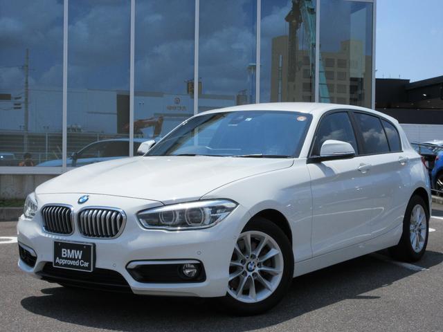 BMW 1シリーズ 118i スタイル LED 16AW コンフォートアクセス バックカメラ PDC 社外フルセグTV 禁煙 弊社ワンオーナー