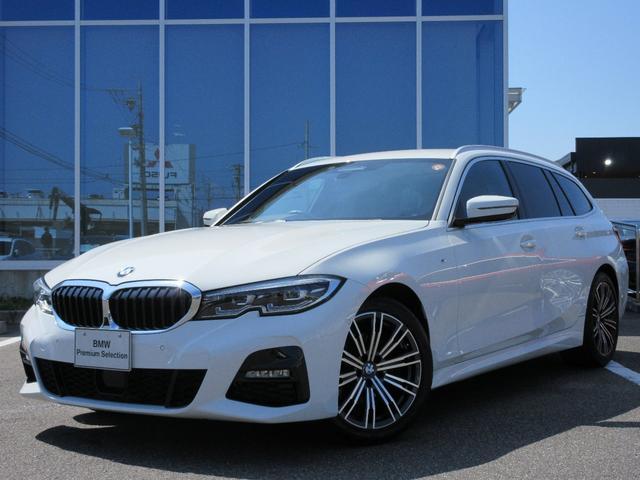 BMW 320d xDriveツーリングMスポツEDジョイ+ LED 18AW ACC コンフォートアクセス トップビューカメラ ライトカーペット 電動Rゲート 禁煙 弊社ワンオーナー