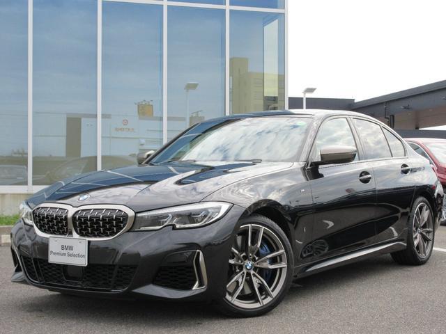 BMW M340i xDrive レーザーヘッド 19AW ガラスサンルーフ 黒レザーシート ヘッドアップディスプレイ ハーマンカードン ACC Mブレーキ 禁煙 弊社ワンオーナー