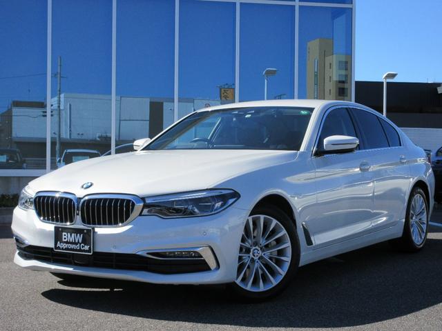 BMW 530iラグジュアリー LED 18AW 黒レザーシート ウッドP ACC 地デジ ドラレコ 禁煙 弊社ワンオーナー